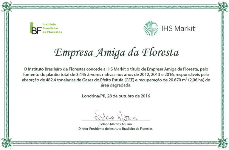 certificado-empresa-amiga-da-floresta-ihs-markit